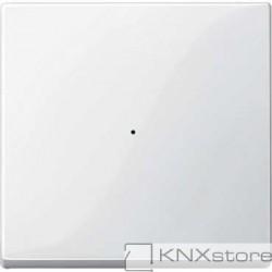 Schneider Electric Merten KNX - System M - kryt pro 1-násobný tlač. modul - polar wh.