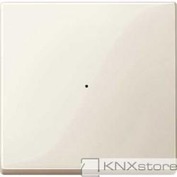 Schneider Electric Merten KNX - System M - kryt pro 1-násobný tlač. modul - white cream