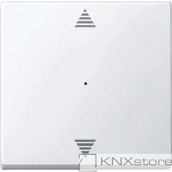 Schneider Electric Merten KNX - System M - kryt pro 1-násobný tlač. modul - šipky - active wh.