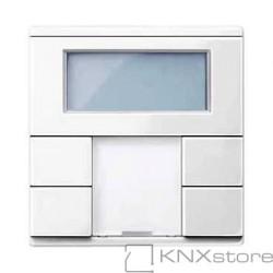 Schneider Electric Merten KNX - System M - multifunkční tlač. panel - 2násobný plus+RTC - polar wh.
