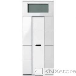 Schneider Electric Merten KNX - System M - multifunkční tlač. panel - 4nás. plus+RTC+IČ - polar wh.