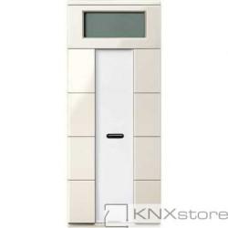 Schneider Electric Merten KNX-System M-multifunkční tlač. panel-4-nás. plus+RTC+IČ-white cream