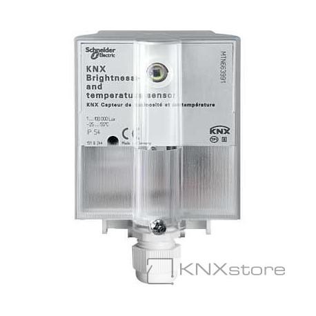 Schneider Electric KNX snímač osvětlení a teploty