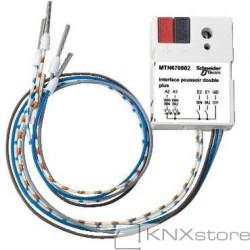 MTN683901KNX tlačítkové rozhraní 2-násobné plus, Polar