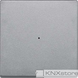Schneider Electric Merten KNX - System M - kryt pro 1-násobný tlač. modul - aluminium
