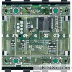 Schneider Electric Merten KNX - System M - tlačítkový modul 2-násobný