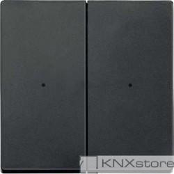 Schneider Electric Merten KNX - System M - kryty pro 2-násobný tlač. modul - antracit
