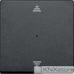 Schneider Electric Merten KNX - System M - kryt pro 1-násobný tlač. modul - šipky - antracit