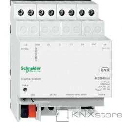 Schneider Electric KNX meteorologická stanice REG-K/4-násobná