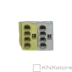 KNX odbočkové svorky WAGO, žluto/bílé (50 ks)
