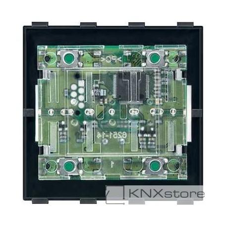 Schneider Electric KNX tlačítkový modul 2-násobný, Artec/Trancent/Antique